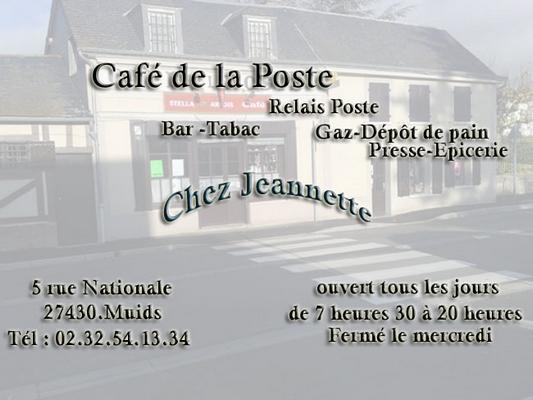 www.cafedelaposte-muids.fr